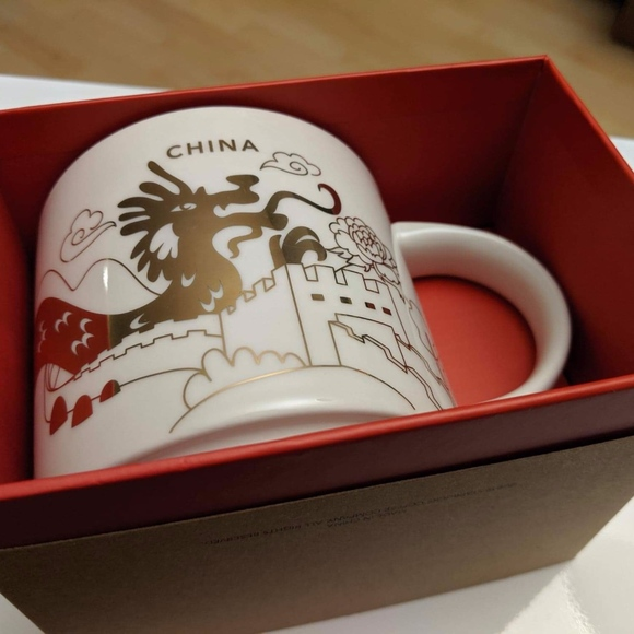 China Starbucks You Here Are Mug Collection Nwt lF1KucTJ3